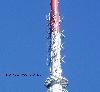 Ausschnitt der UKW-Antennen, aufgenommen aus Sden