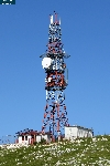 Tower used by Bobar Radio (104.7 MHz), located close to the main tower used by BHRT (public radio and television)